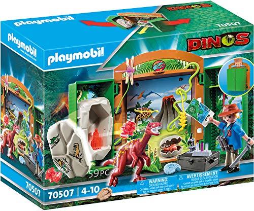 PLAYMOBIL Dinos 70507: Caja de Juegos Dinoforscher