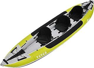 Z-Pro Tango 3 Inflatable Kayak Green - 2 or 3 Person Kayak ...