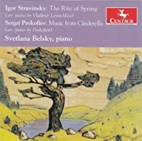 Rite of Spring & Music From Cinderella by Svetlana Belsky (2014-05-27)