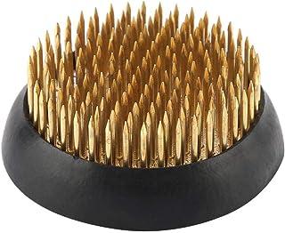 Kathope Runder Ikebana Kenzan Blumenfrosch Mit Gummidichtung Art Fixed Arranging Tools