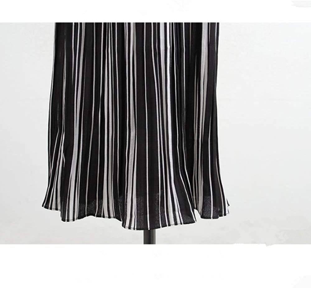 brandless European and American Plus Size Casual Pants Women's Pleated Elastic High Waist