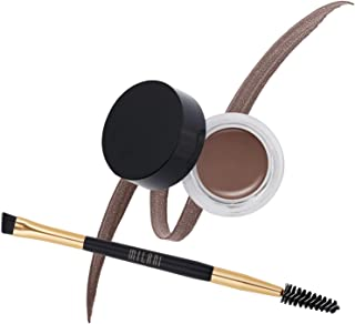 Milani Stay Put Brow Color - Auburn (0.09 Ounce) Vegan, Cruelty-Free Eyebrow Color that Fills and Shapes Brows