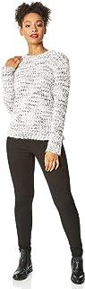 Roman Originals Suéter de punto suave para mujer, estilo vaquero, informal, para uso diario, relajado, para otoño e invier...