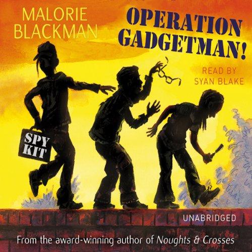 Operation Gadgetman! audiobook cover art