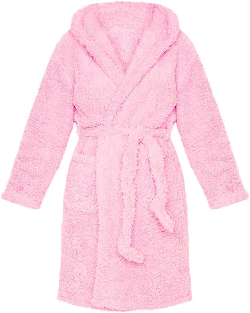 Women trust Robe Soft Kimono Robes Solid Color Elegant Long Sleeve Bath Hooded