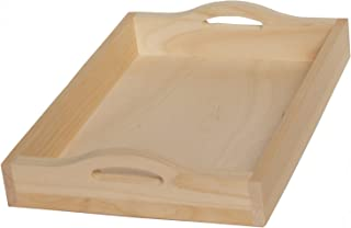 Walnut Hollow B000YQGQVC 10016875 Unfinished Wood Serving Tray for Weddings, Home Decor and Craft Projects, 11