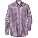 BUTTONED DOWN Men's Classic Fit Button Collar...
