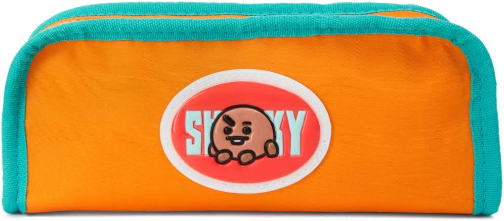 BT21 SHOOKY Character Cute Pencil Case favorite Pouch Makeup Toilet Small Max 42% OFF