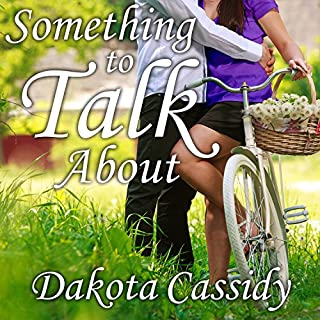 Something to Talk About audiobook cover art