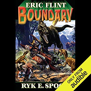 Boundary     Boundary Series, Book 1              By:                                                                                                                                 Eric Flint,                                                                                        Ryk E. Spoor                               Narrated by:                                                                                                                                 Jonathan Walker                      Length: 18 hrs and 8 mins     170 ratings     Overall 4.1