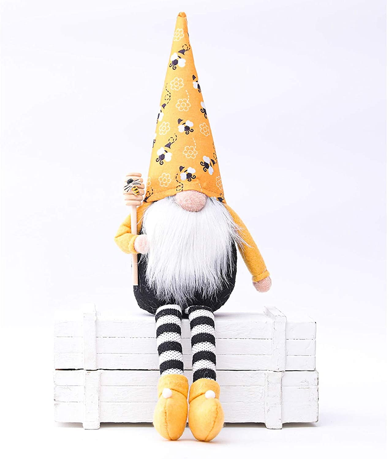 Max 44% OFF OLOPE Bumble Bee Faceless Cute Popular product Doll Scandi Striped
