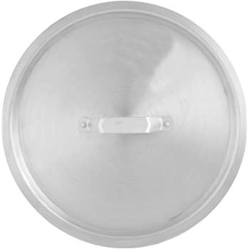 Thunder Group Aluminum Stock Pot Lid, 20 Quart, Silver