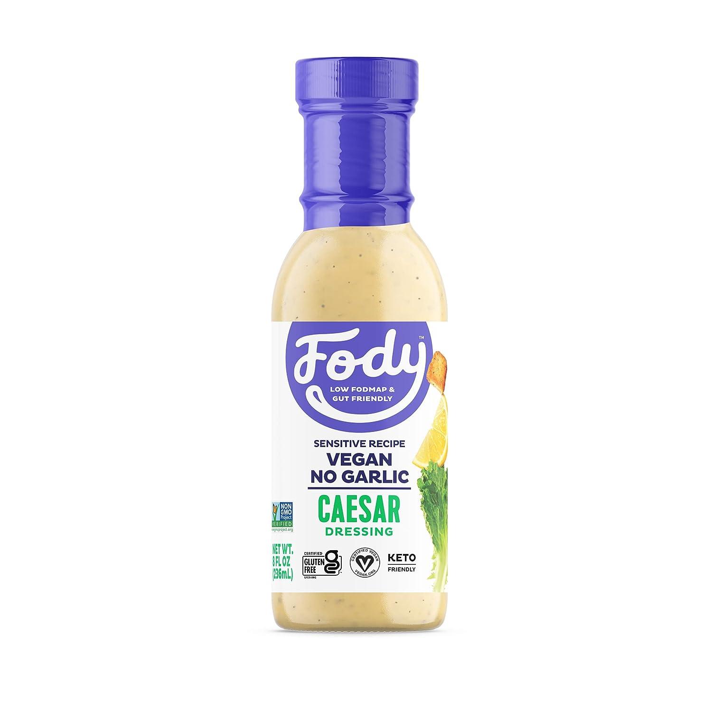 Fody Foods Vegan List price Caesar Salad Low Certifi Max 60% OFF Dressing Pack FODMAP