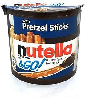Nutella Hazelnut Spread & Pretzels Sticks & GO! Pouch, 54 g