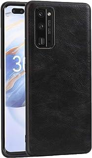 LENASH För Huawei ära 30 Pro PU + PC + TPU-fodral. Fallskydd (Color : Black)