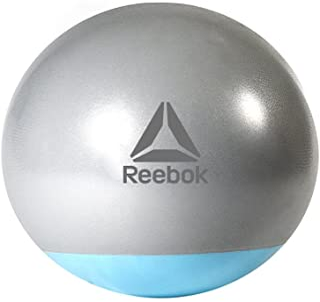 Reebok Rab-40016Bl 65 Cm Gymball Two Tone, Grey/Blue, 165 x 180 cm