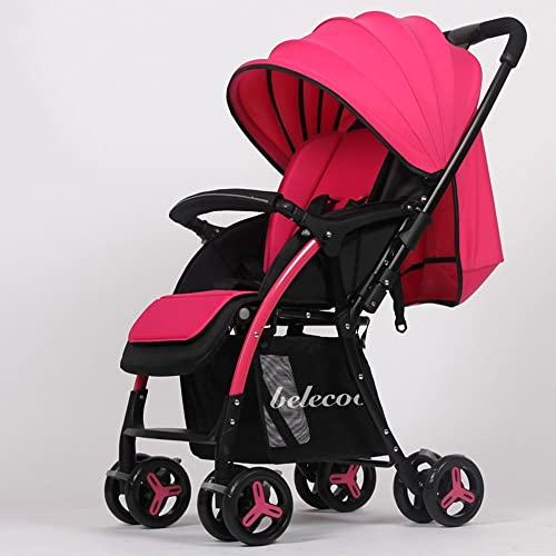 Kinderwagen Einfacher faltender Laufkatze kann Baby-Baby-Auto sitzen Einfach zu verwenden (Farbe   6 )