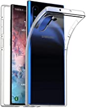 Samsung Galaxy Note 10 Case Crystal Clear Slim Protective Cover, Case for Galaxy Note 10 Flexible Soft TPU Anti-Scratch Case for Galaxy Note 10 (2019) Galaxy Note 10 6.3