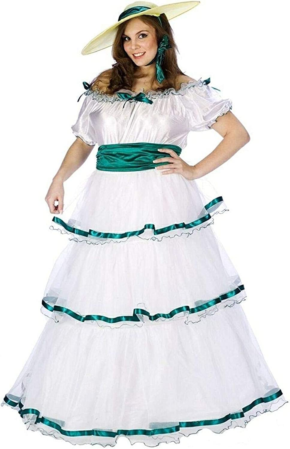 Fun World Costumes Southern Belle Adult Plus Costume Size Plus (1624)