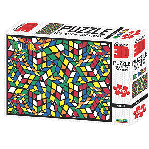 Geeked Super 3D Puzzle