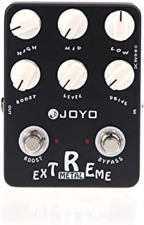 SOUND HOUSE 261 JOYO JF-17 Extreme Metal Guitar Pedal with 3-Band EQ and Gain Boost