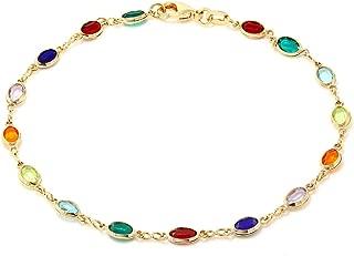 Best multicolor crystal bracelet Reviews