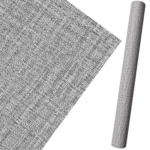 PVC wasserdichte Selbstklebende Tapete textilartig Muster Klebefolie wasserfest Tapete 10 * 0.6M Dekorativ Peel Stick Wallpaper Wandbelag Wandaufkleber Rolle