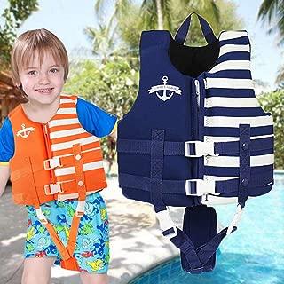 Kids Swim Vest - Child Life Jacket Baby Float Swimwear with 3 Safety Buckle, S-XL