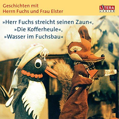 Herr Fuchs streicht seinen Zaun, Die Kofferheule, Wasser im Fuchsbau