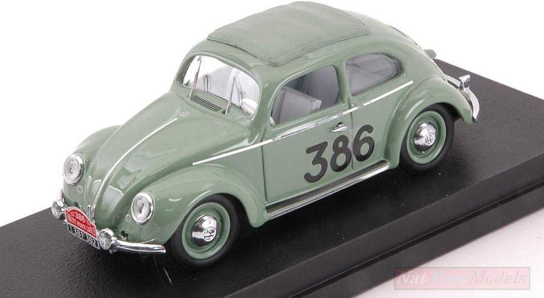 promocionales de incentivo Rio RI4580 VW MAGGIOLINO N.386 98th Monte Cochelo 1954 PRAGER-CULBERT PRAGER-CULBERT PRAGER-CULBERT 1 43 Model Compatible con  gran venta
