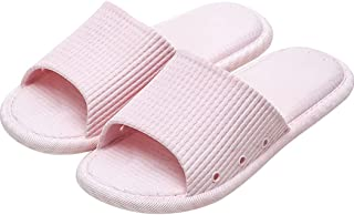 SalLady Bathroom Slippers Quick Drying Nonskid Simple Flexible Nonslip Hollow Household Sandals Swimming Pool Hotel