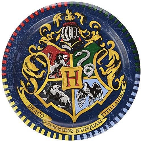 Pappteller - 18 cm - Harry Potter Party - Packung mit 8 Stück