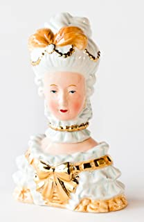 180 Degrees Ceramic Marie Antoinette Salt And Pepper Shaker In Gift Box