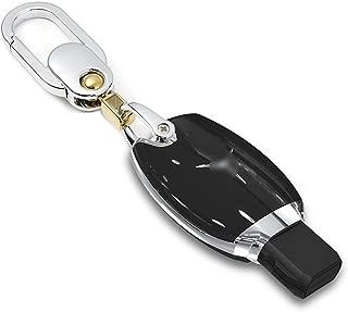 XUFU Porte-cl/és pour Toyota RAV4 2019 cl/é de Voiture Cas Noir r/ésistant aux Rayures Shell Smart Cover cha/îne