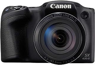 كانون كاميرا رقمية باور شوت SX430 IS ميني اس ال ار ، اسود