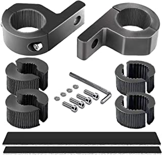 Horizontal Bar Clamp Mounting Kit - 4WDKING 2PCS 0.75