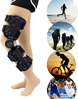 Knee Support Brace, Hinged Knee Braces, Osteoarthritis Knee Support, for ACL/PCL/Meniscus/Ligament/Sports Injuries, Adjust...