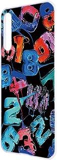 HUAWEI P20 Pro (HW-01K) ケース ハードケース [キャンディロゴ・黒ブルー系] ロリポップ ペイント ピートゥエンティプロ スマホケース 携帯カバー [FFANY] lolipopo-h143@06