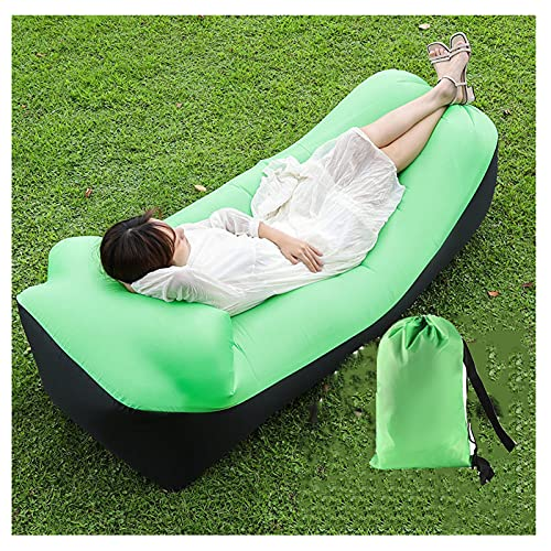 FENGXU Inflatable Lounger Air Sofa Hammock, Portable Waterproof Anti-Air Leaking Pouch Couch Air Chair, Camping Compression Sacks for Traveling, Beach, Picnics, Hiking, Pool and Festival