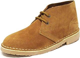 Roamer chaussures - desert boots - cuir velours - coloris taupe - UK10/EU44