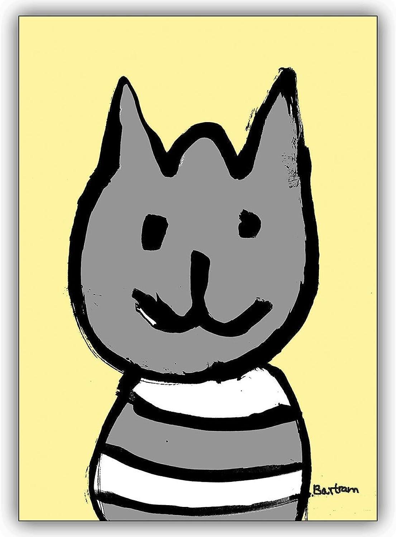 16 Geburtstagskarten (16er Set)  Süße Süße Süße illustrierte Katzen Karte zum Geburtstag oder zum Gratulieren B00VRS694A   Spielen Sie das Beste  6c821b