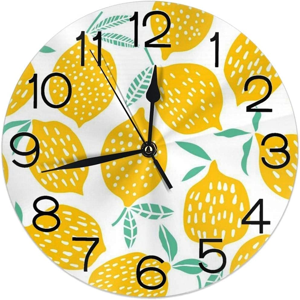 DKISEE Wall Clock Art Colorful 11.8 Fixed price for sale Clock30cm New item Lenmon ArtworkWall