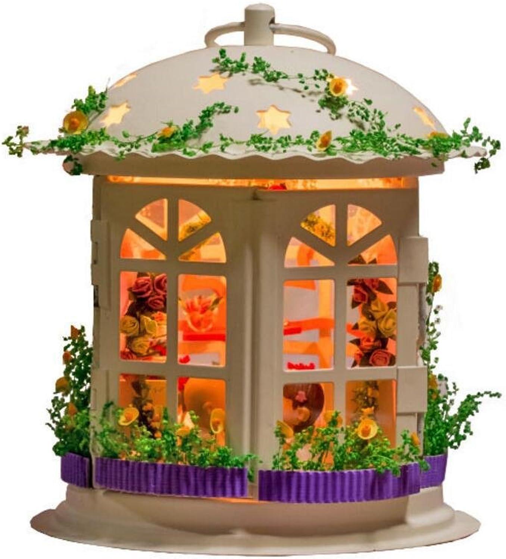 MTTLS Puppe Haus Mini Haus Mbel Kit Dekoration Haus der Palast der Liebe Haus Puppen Zimmer Geschenk