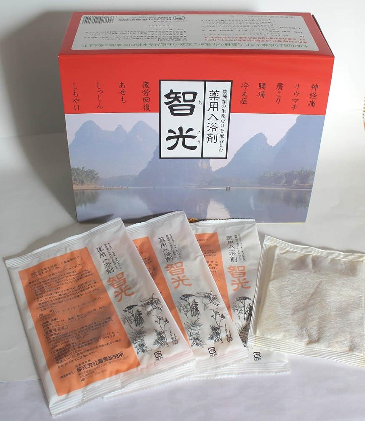 るポーズ雑種薬用入浴剤 智光 (25g×32包入り)化粧箱なし