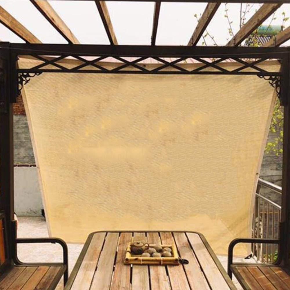 DGLIYJ Sombrilla Sombrilla De Tela Neta Techo Carport Vegetal Sombra Cubierta De Protección Solar, (Color: Beige, Tamaño: 4x6m) (Size : 2x4m): Amazon.es: Hogar