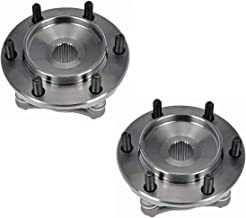 RWD RWD Fits Front 1-Pack 2016-2019 Tacoma 2WD QJZ 950-004 Wheel Hub and Bearing Assembly for Toyota 2005-2015 Tacoma Pre Runner 2007-2009 FJ Cruiser 2WD RWD 2003-2019 4Runner 2WD