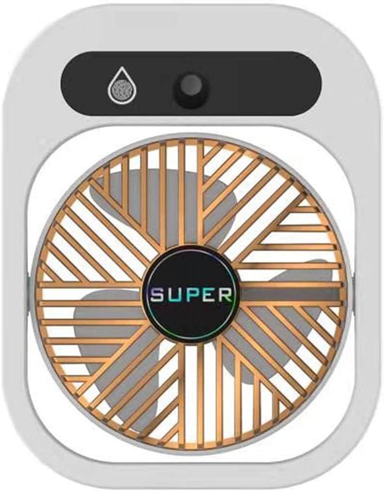 HUALUWANG Mini Weekly update USB Fan with Mist wholesale Speeds Desk 3 Stron