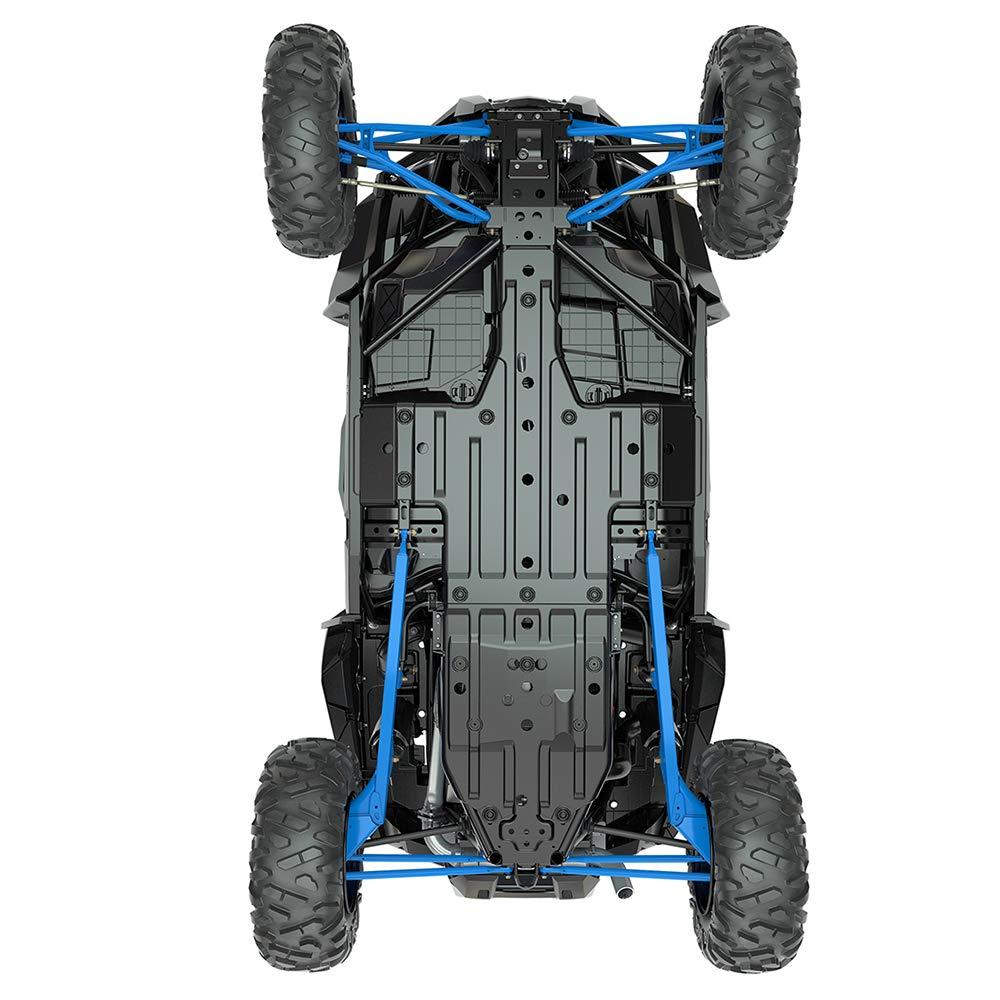 Pro Armor Race Front Bumper Skid Plate Black 2014-2018 Polaris RZR XP 1000 Turbo P141P363BL