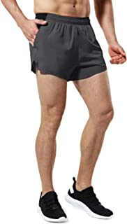 TSLA Men's 4 inches Quick-Dry Running Active Performance Shorts