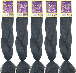 Bng Classic Braiding Hair 25 Inch 100% Kanekalon Jumbo Synthetic